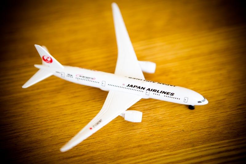 JAL子供用おもちゃモデルプレーン