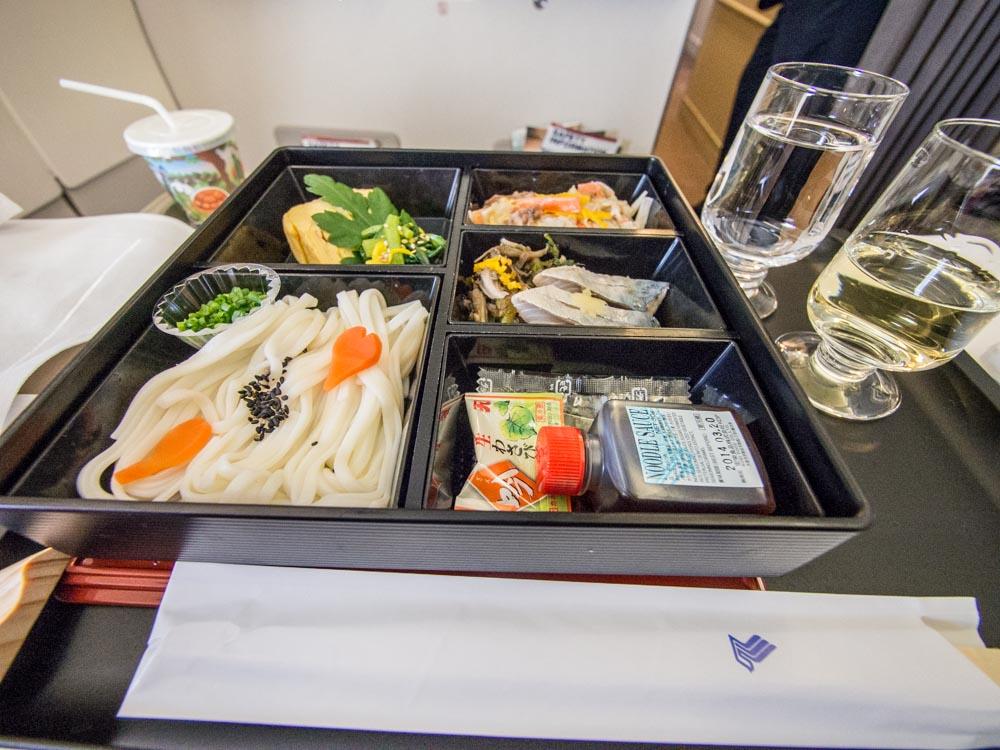 シンガポール航空ビジネスクラス機内食-3