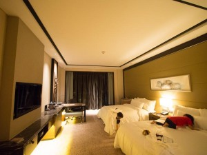 シンガポールウェスティン クラブフロア客室