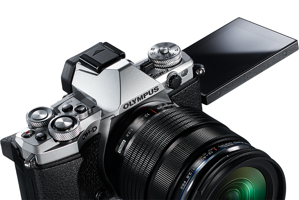 om-d-e-m5-mark-ii-silver-variable-angle-display