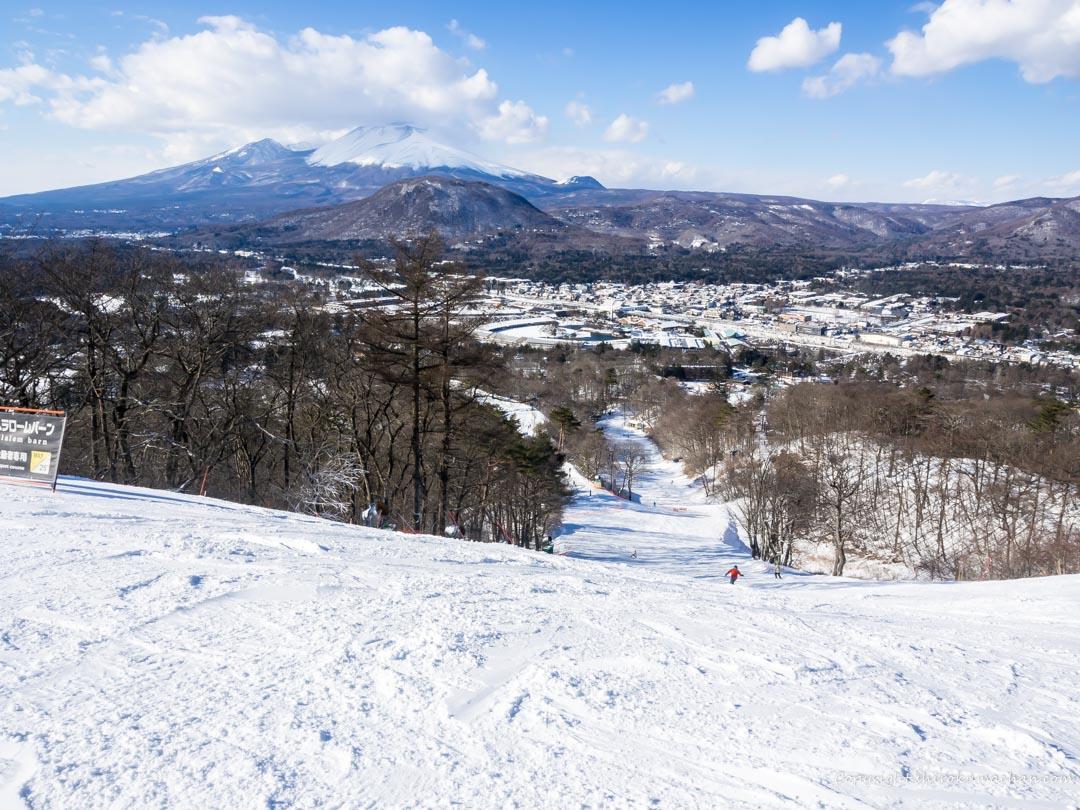 軽井沢プリンススキー場