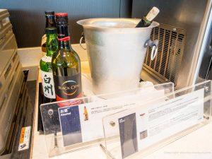 ANA 羽田空港 国内線 SUITEラウンジのお酒