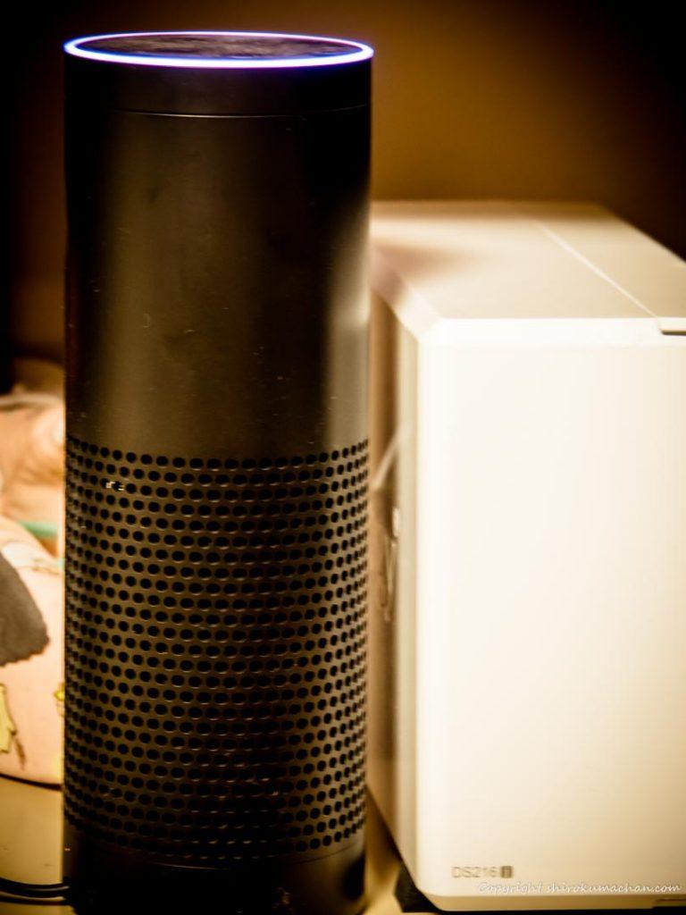 Amazon EchoとDS216j