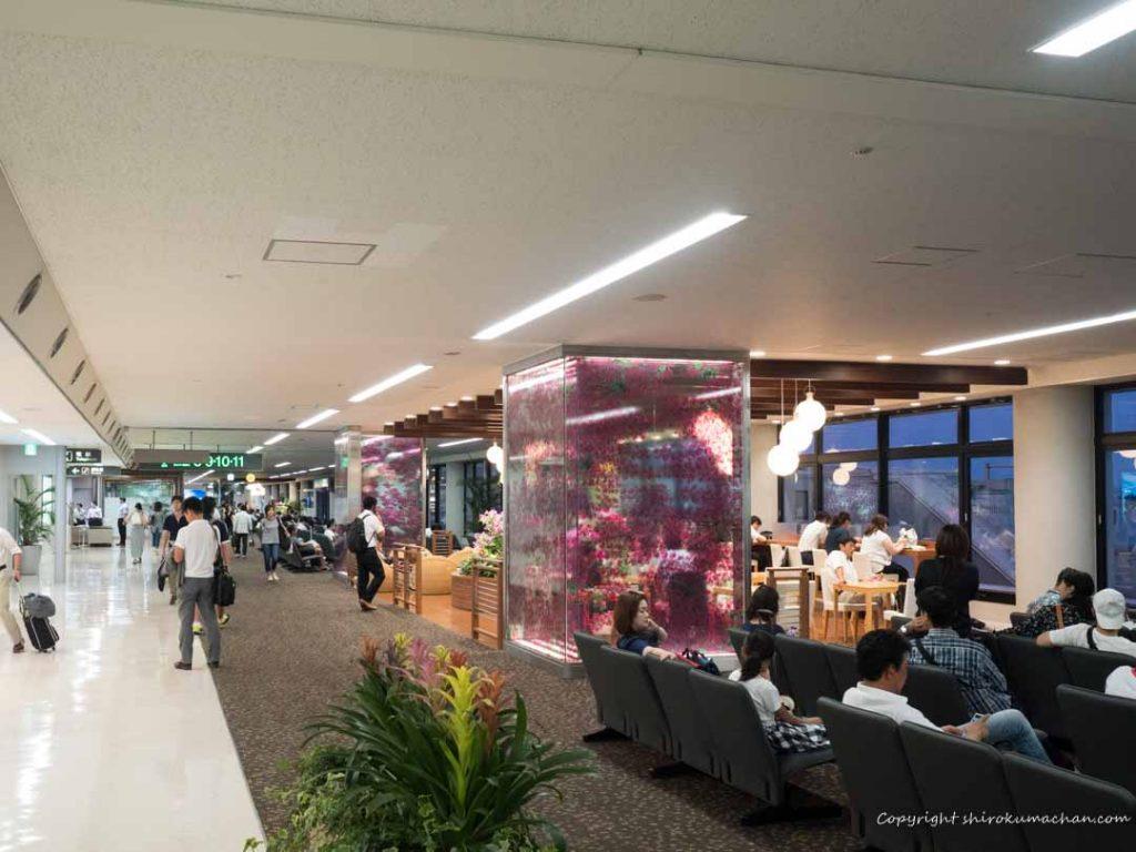 宮崎空港待合室