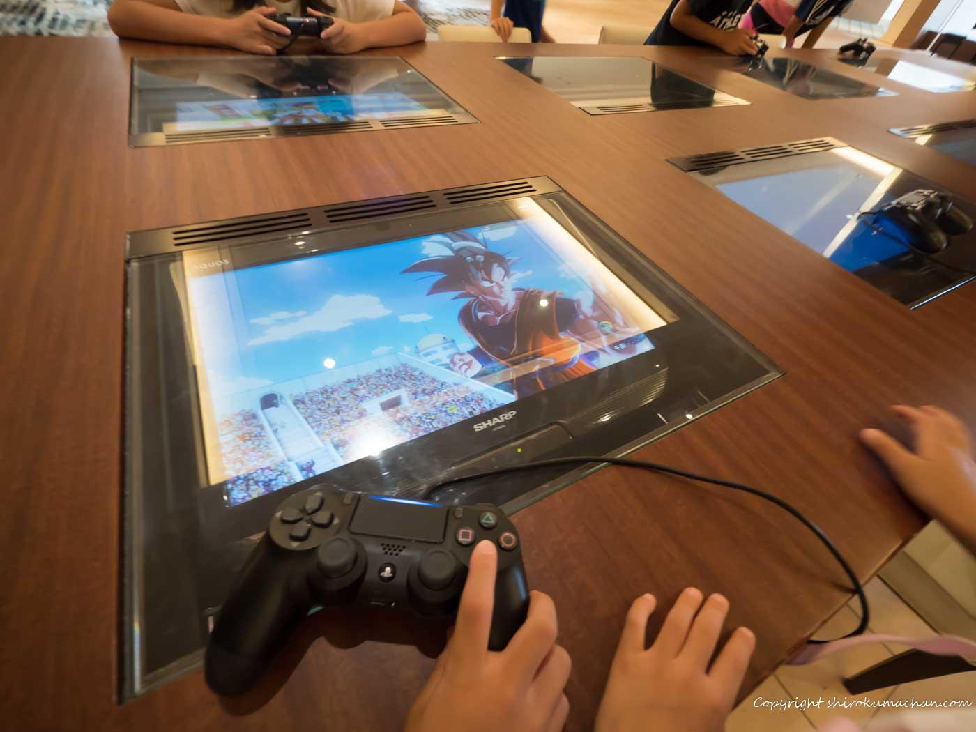 シェラトン・グランデ・トーキョーベイ・ホテル 子供用テレビゲーム