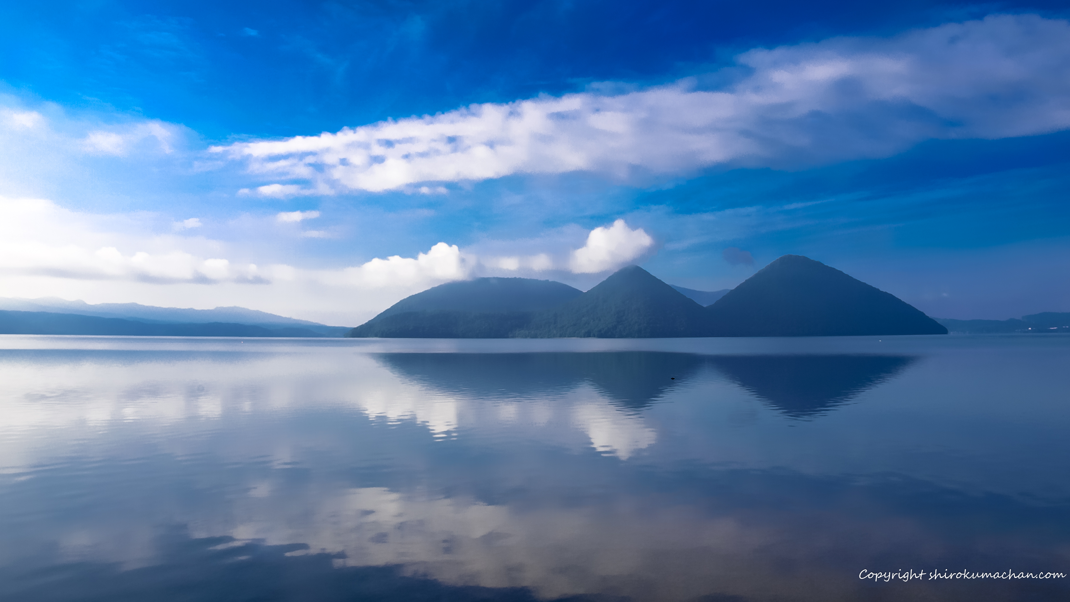 Fresh Summer Lake Lake Toya Hokkaido