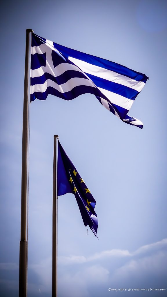 Greece Flag 4K UHD Wallpaper for Smart phone