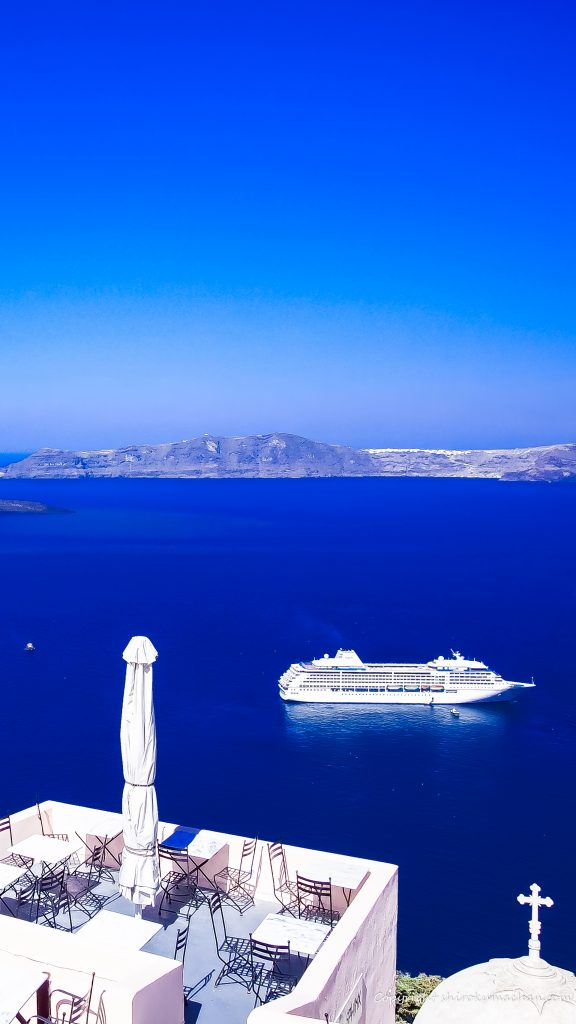 Santorini Greece 4K UHD Wallpaper for Smart phone