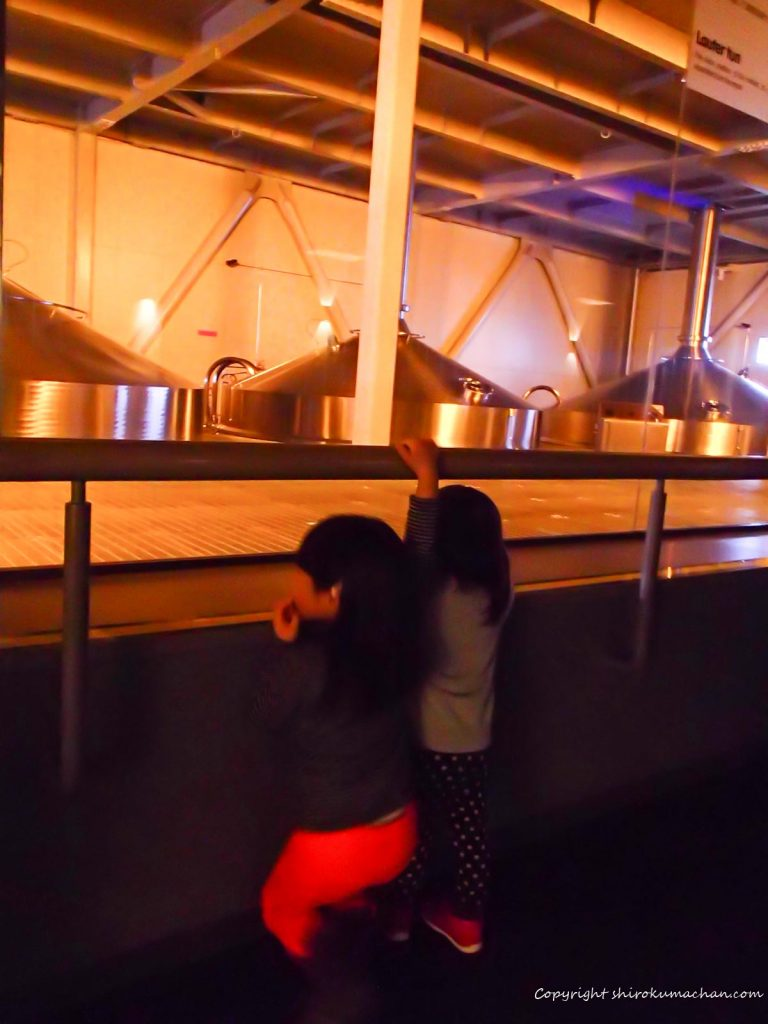 千歳 ビール工場見学