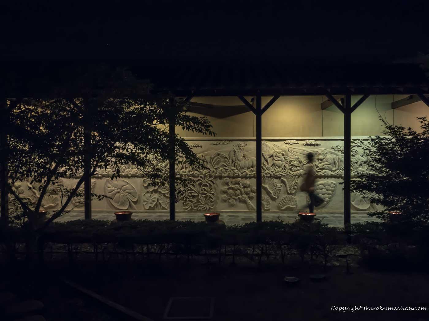passage to the hot springs in Sea Gaia Miyazaki