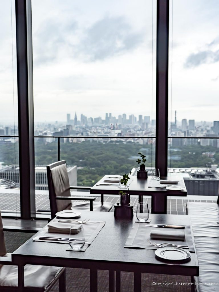 Lunch at Aman Tokyo