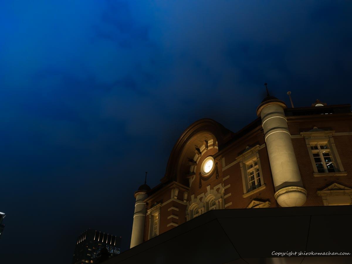 東京駅の夜景撮影スポットお勧め
