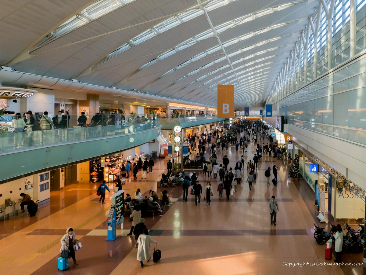haneda airport building 2 restaurants