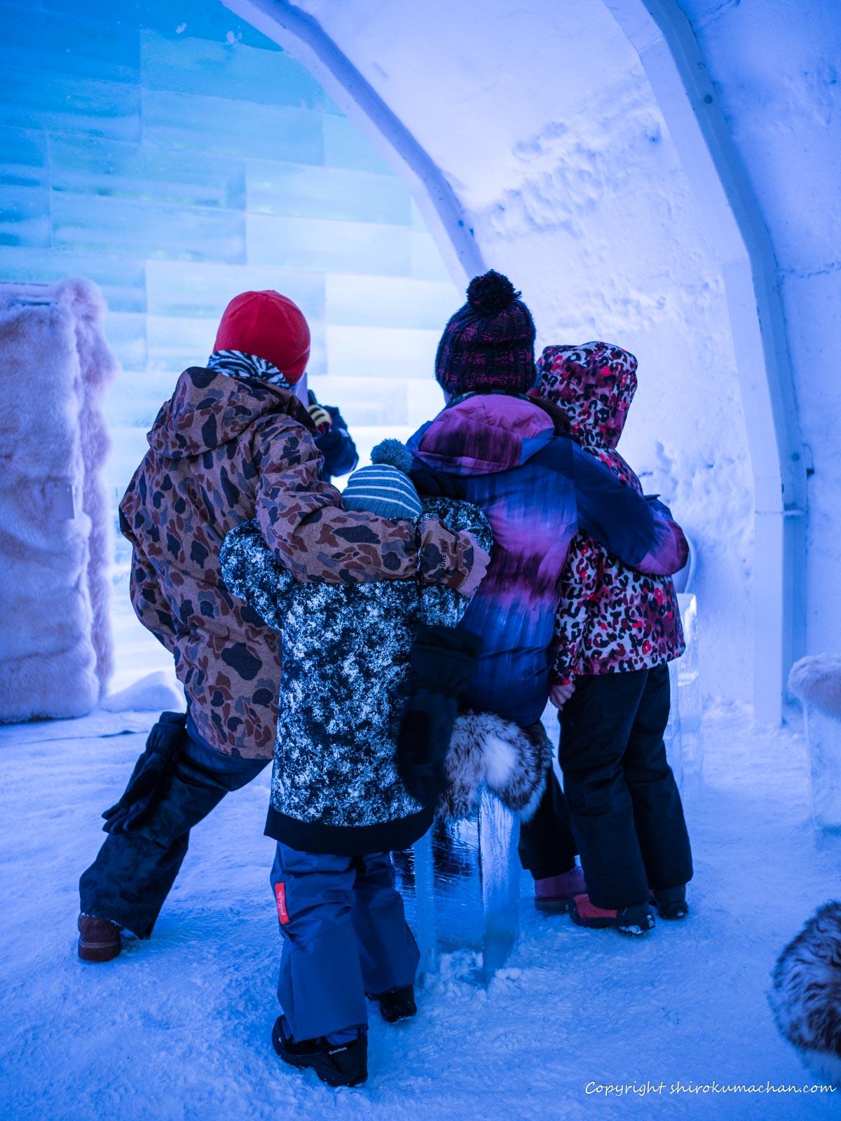 Ice Hotel Ice Restaurant Ice Bar Kiroro dress code
