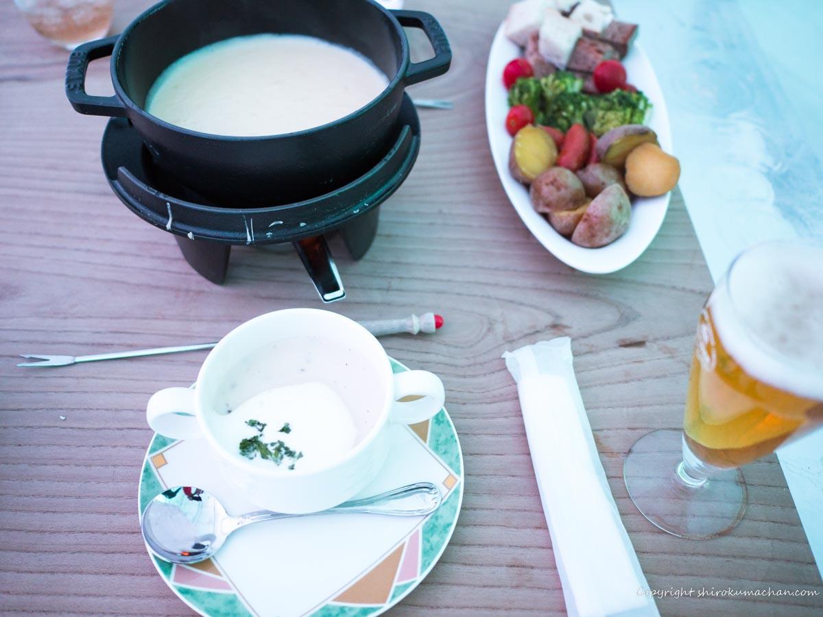 cheese fondue Ice Restaurant