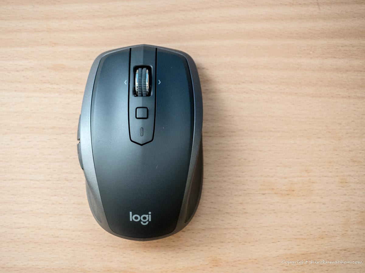 logicool mouse MX1600sGR ANYWHERE 2S Review