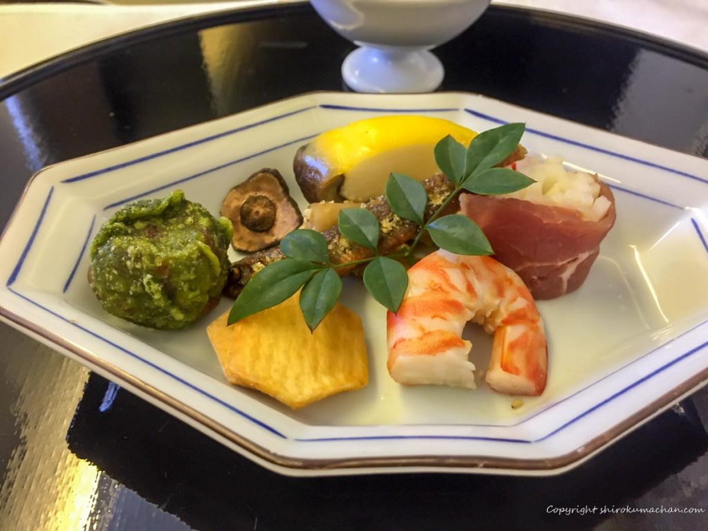 ANA First Class 日本食