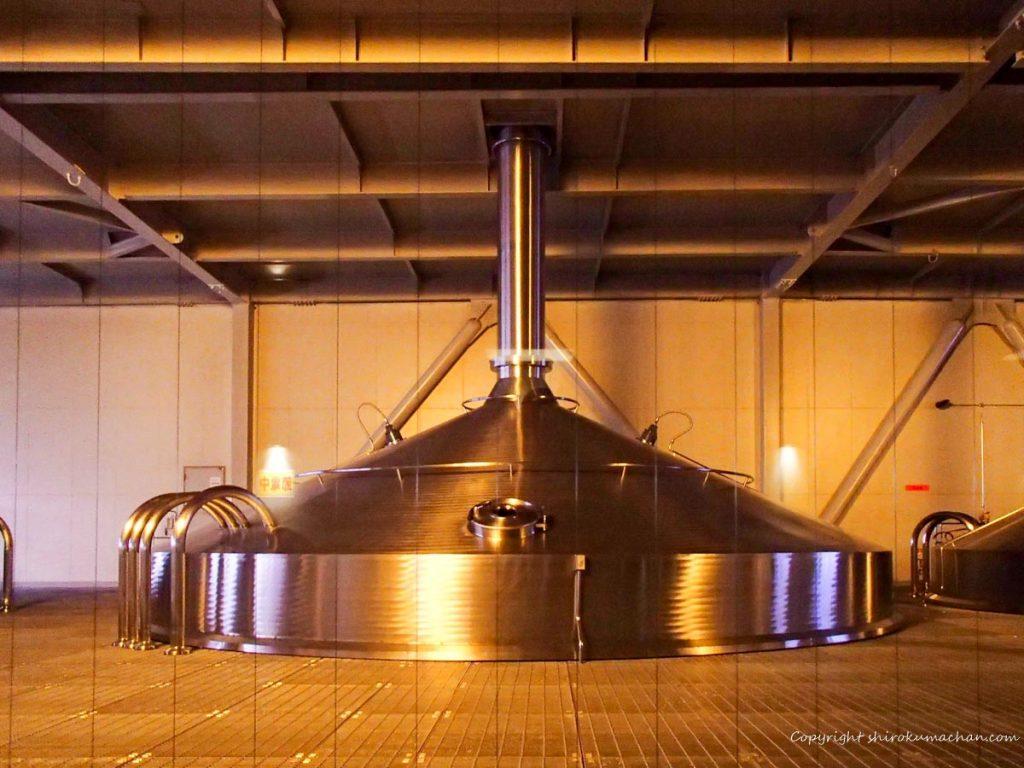 北海道のビール工場
