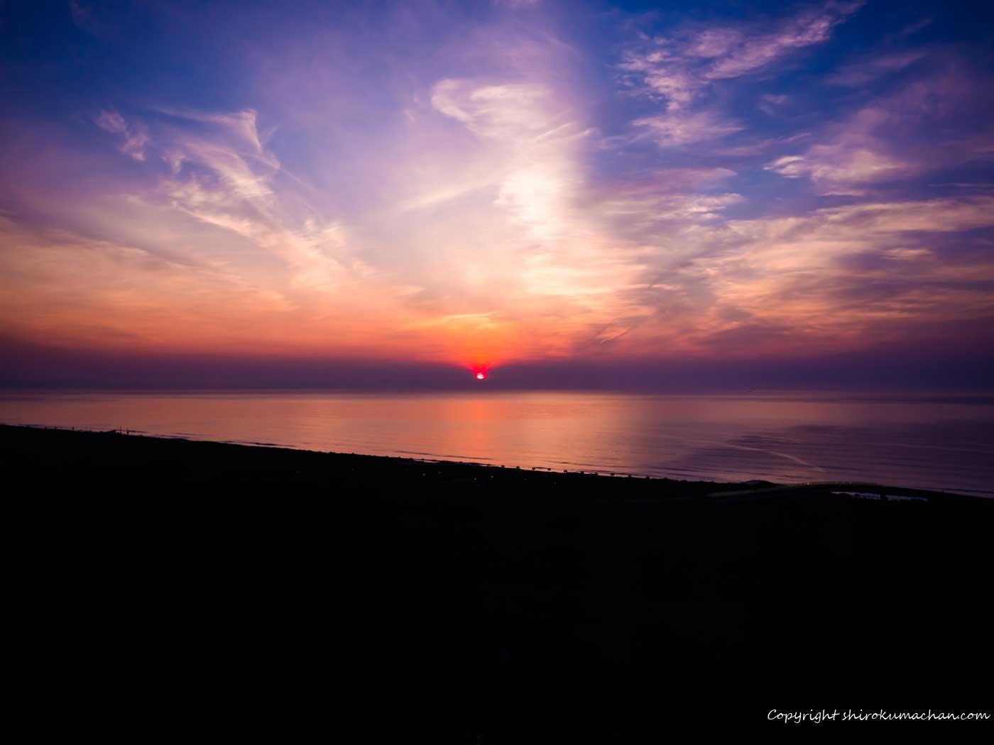 Sun Rise at Sheraton Miyazaki