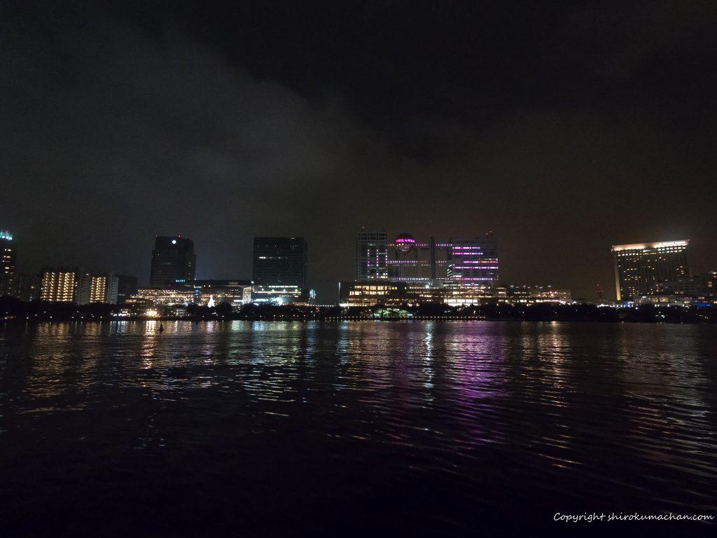 東京湾クルーズ 光るフジテレビ