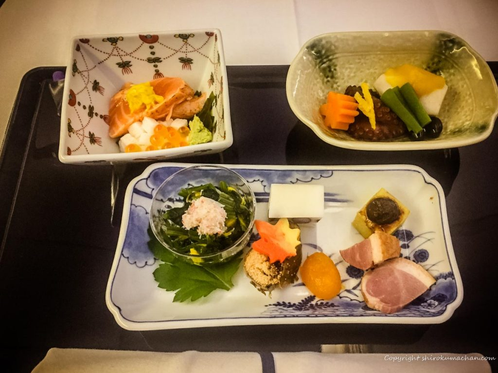 ANA Business Class Food-Japanease Food
