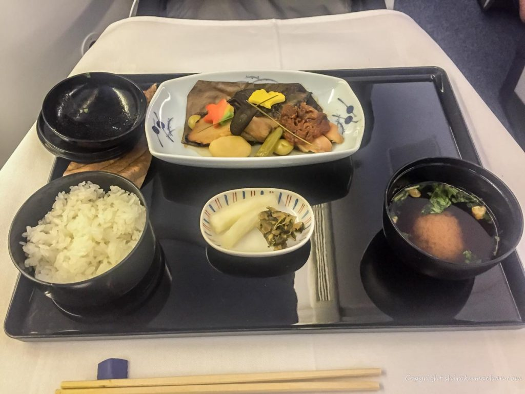 ANA Business Class Food-Washoku