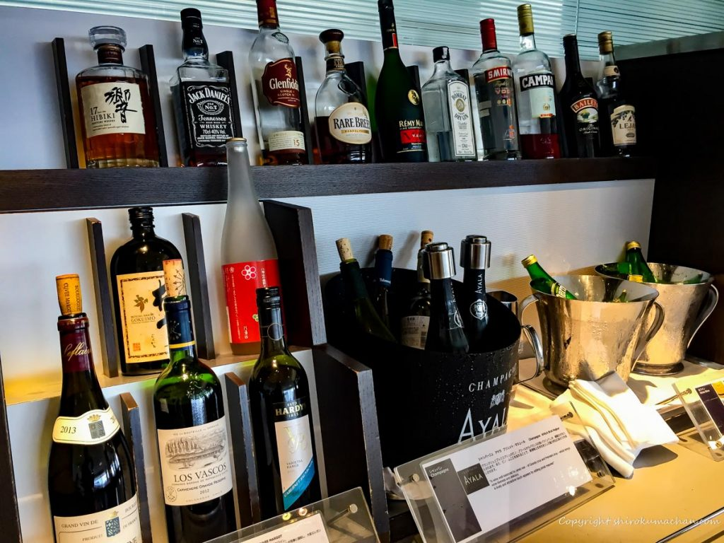 ANA Suite Lounge Narita-Drinks