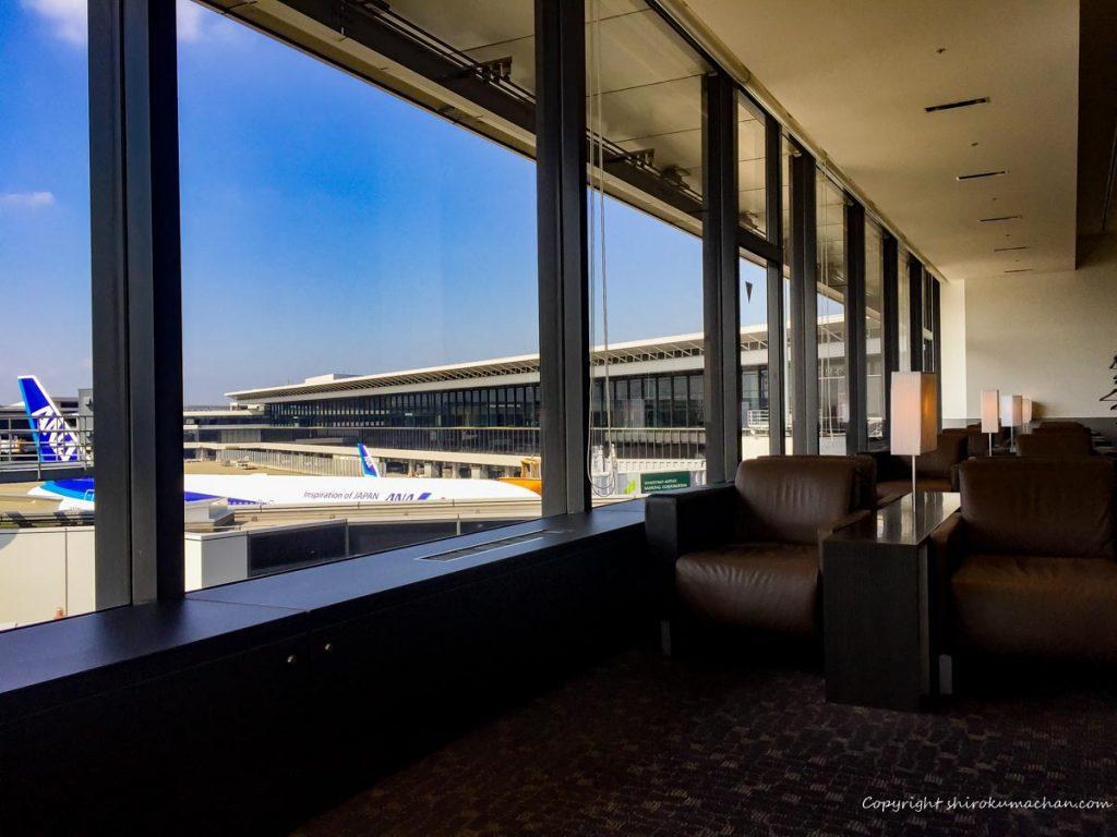 ANA Suite Lounge Narita-Seats