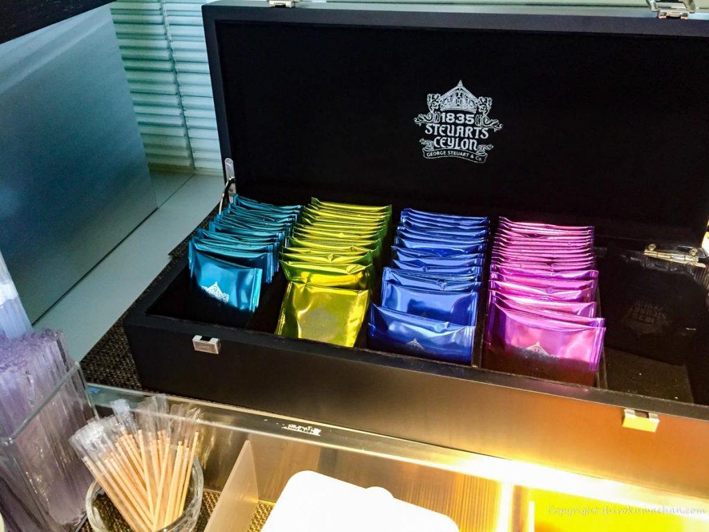 ANA Suite Lounge Narita-Tea