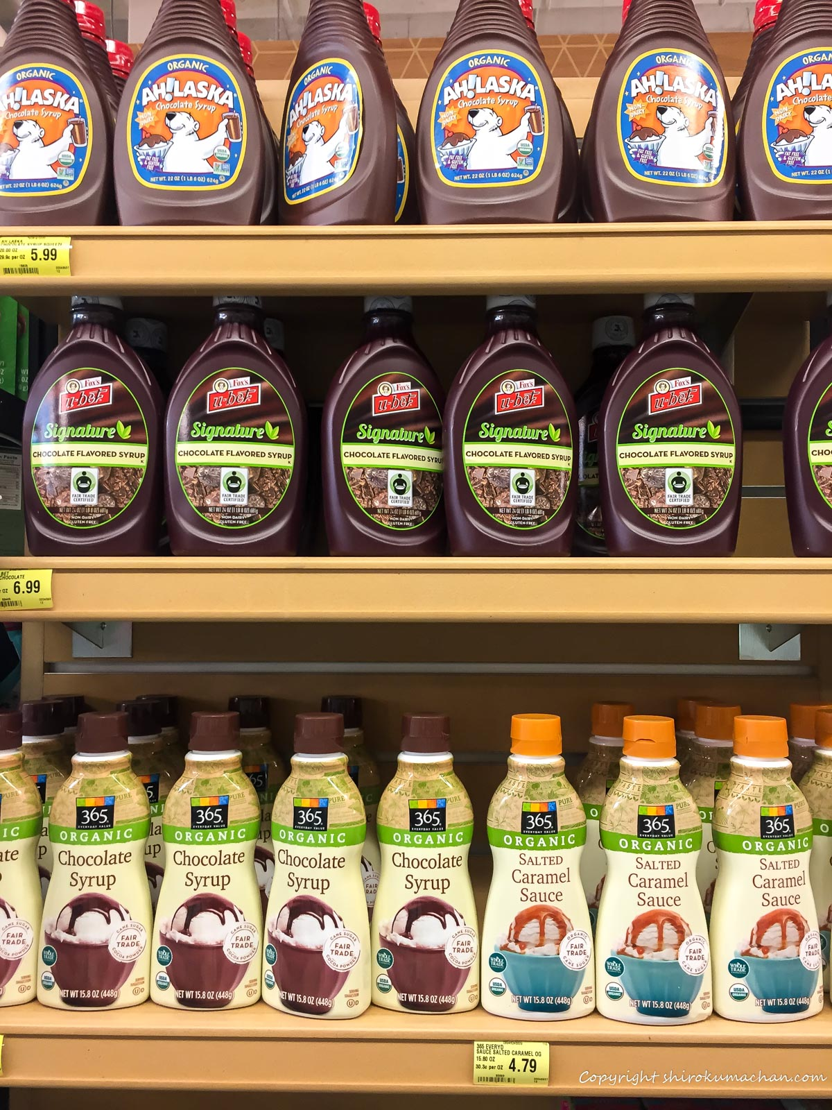 Whole Foods Market-Chocolate Syrup