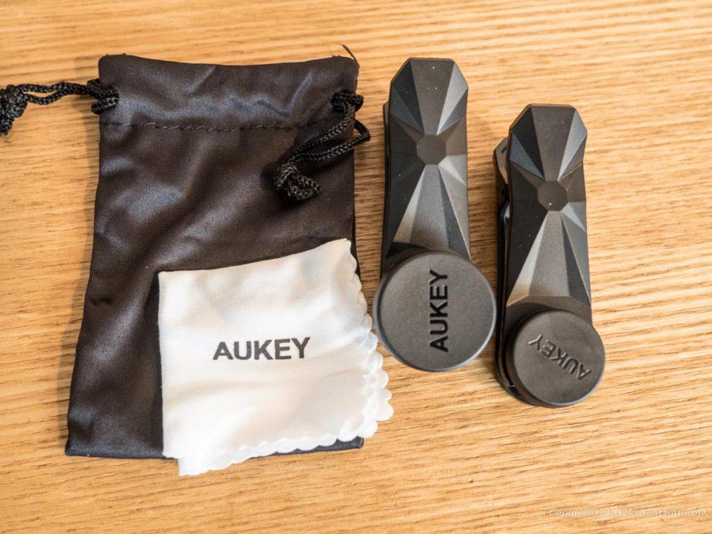 Aukey macro lenses for smart phone