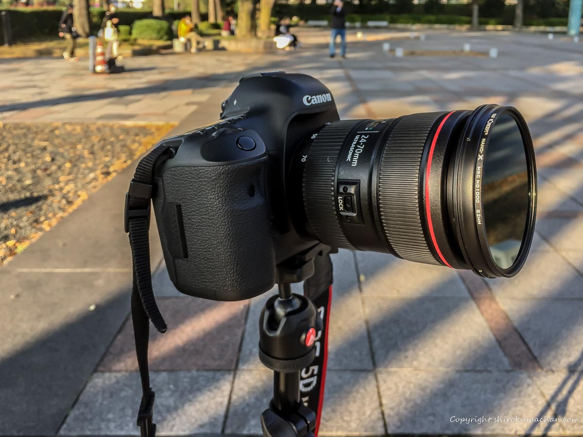 manfrotto befree one-ND Filter review