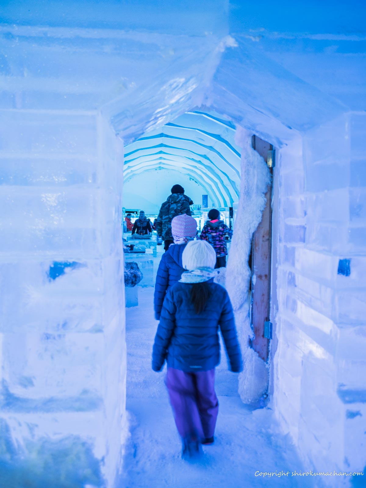 Ice Restaurant Entrance