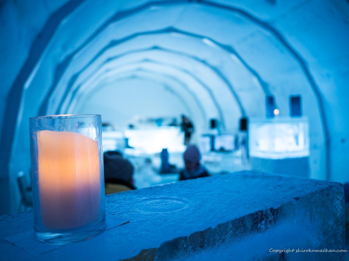 Ice Restaurant Hokkaido Kiroro