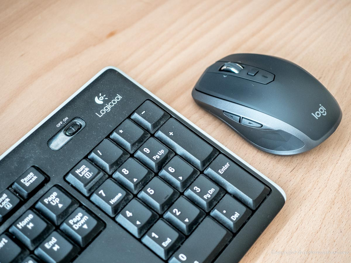 logicool Wireless Keyboard and Mouse
