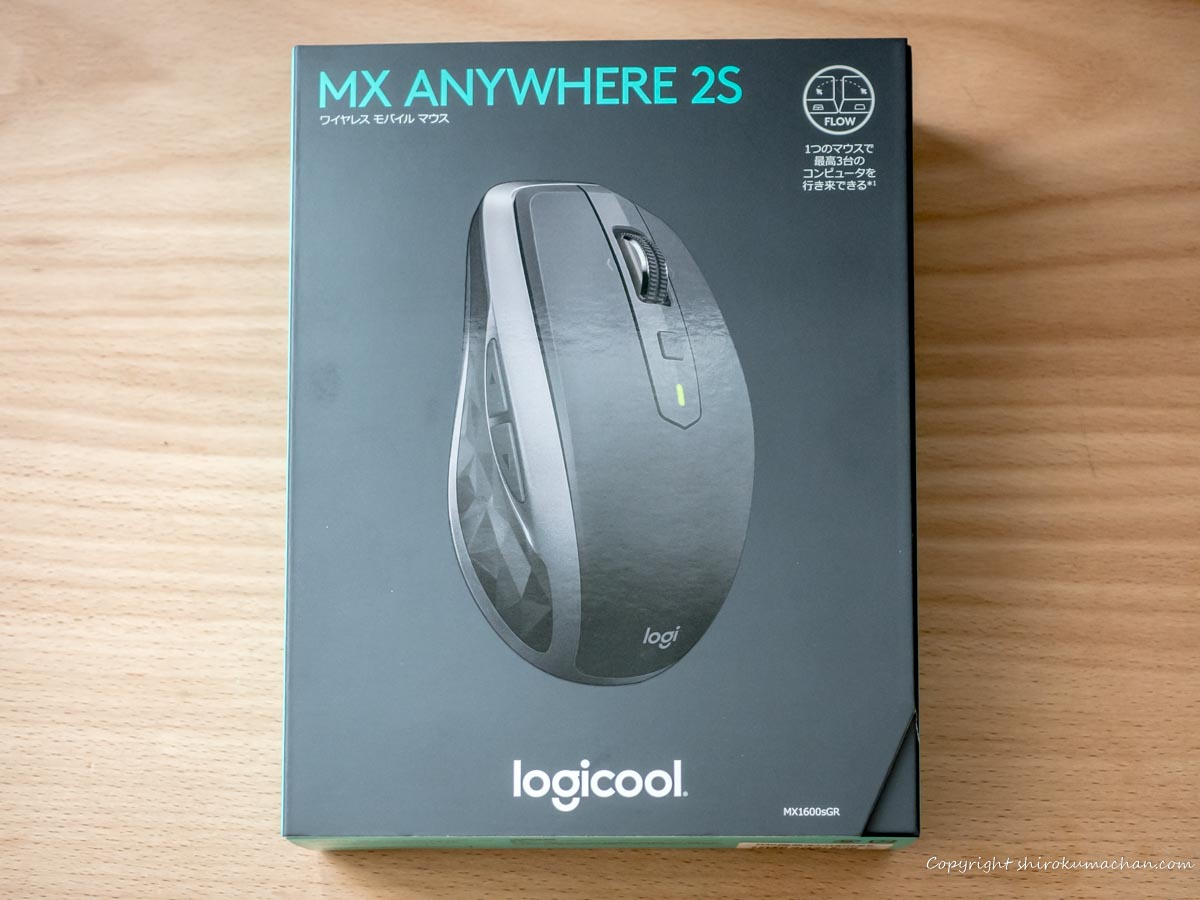logicool mouse MX1600sGR ANYWHERE 2S