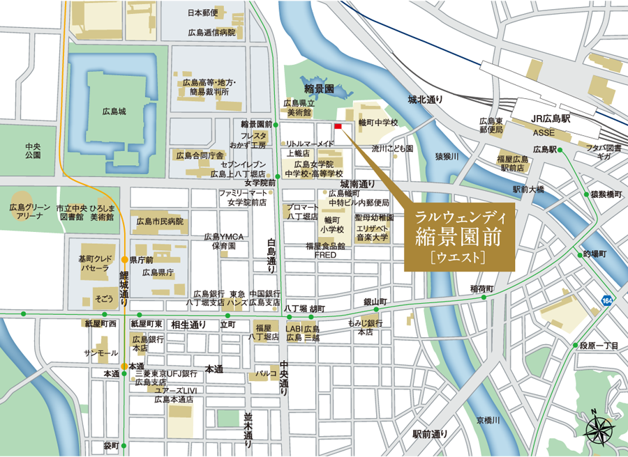 Shukkeien location_map