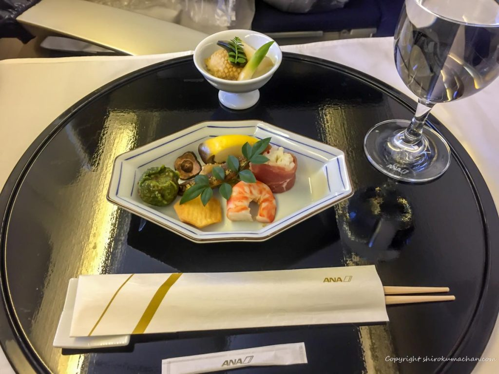 ANA First Class 食事