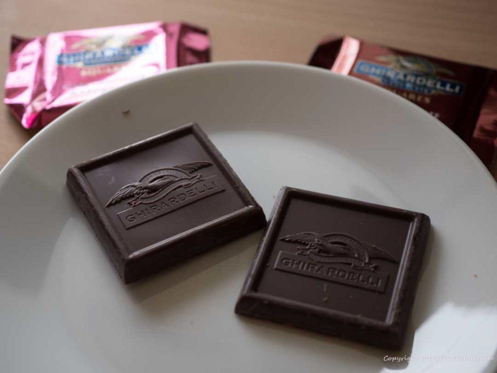 ギラデリチョコレート種類 Filling