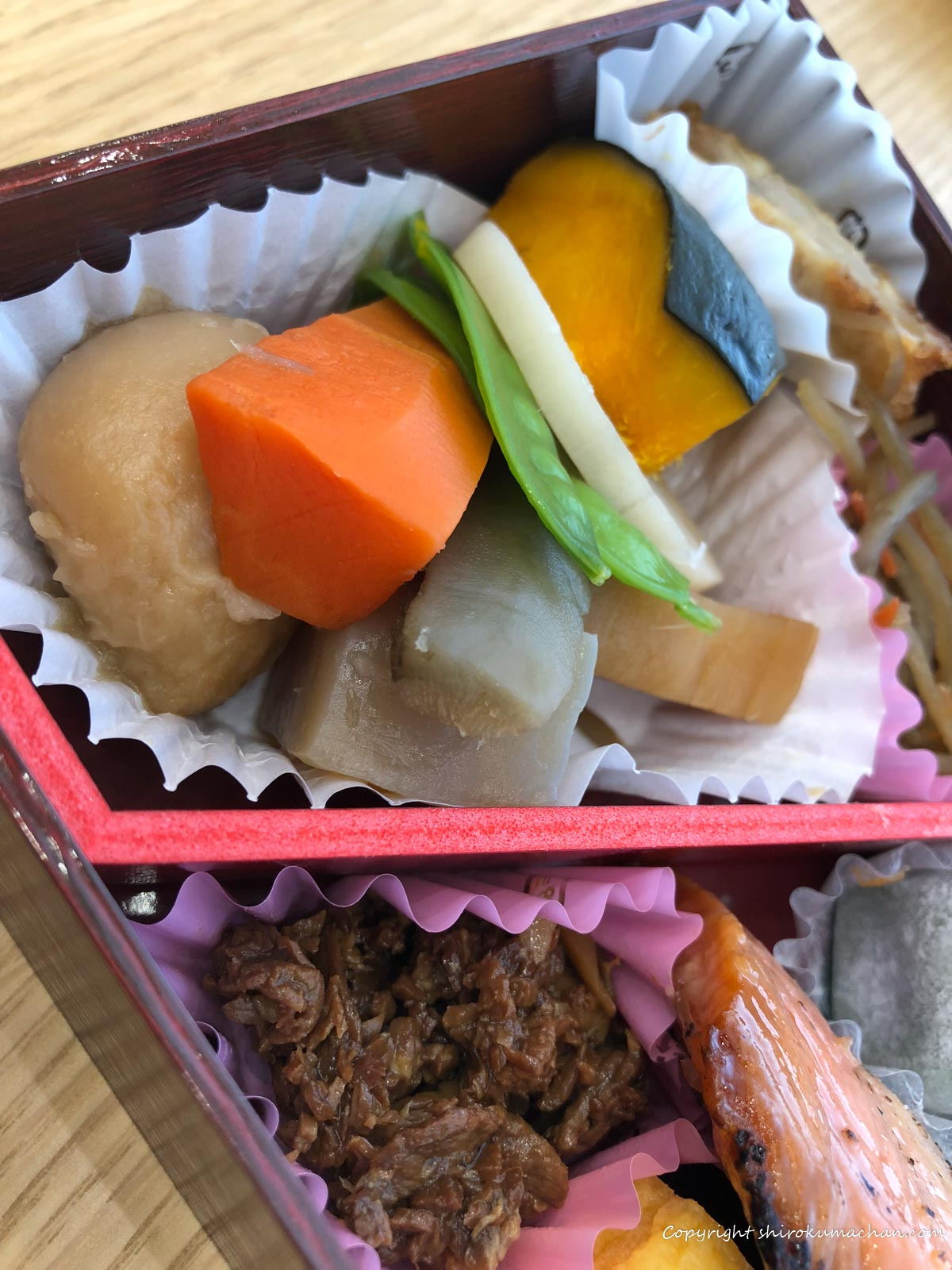 東京駅限定駅弁 東京弁当-日本ばし大増の野菜のうま煮