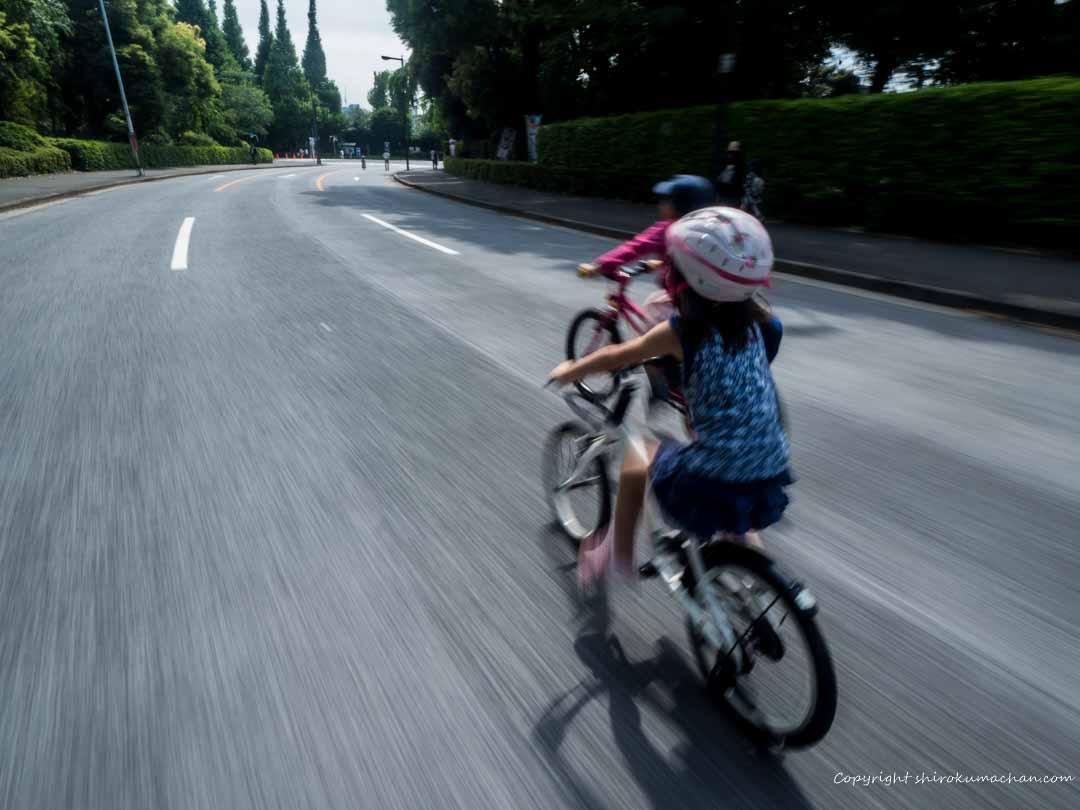 サイクリング子連れ