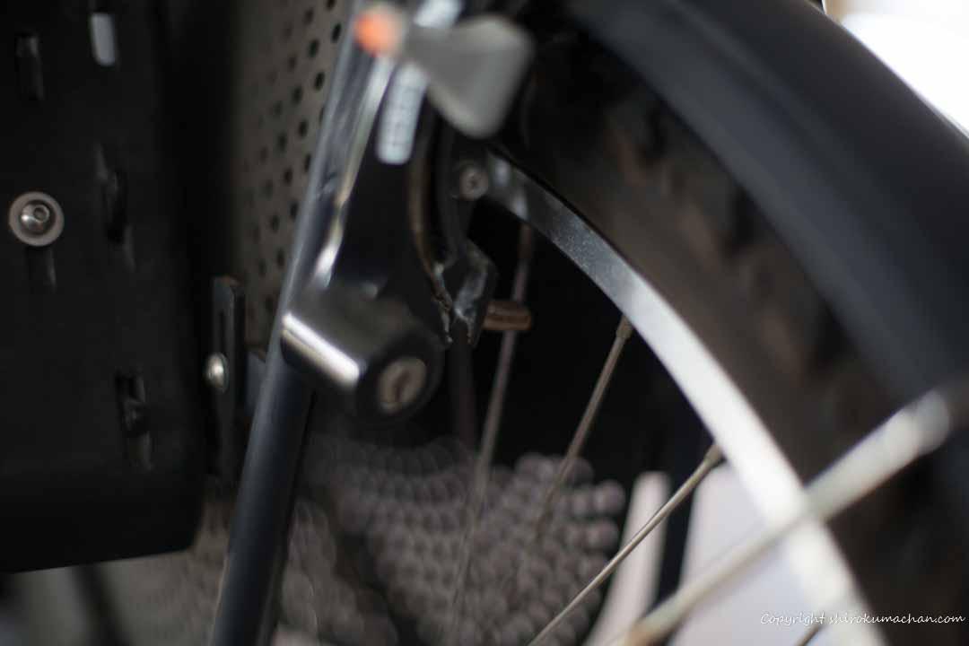 電動自転車の修理