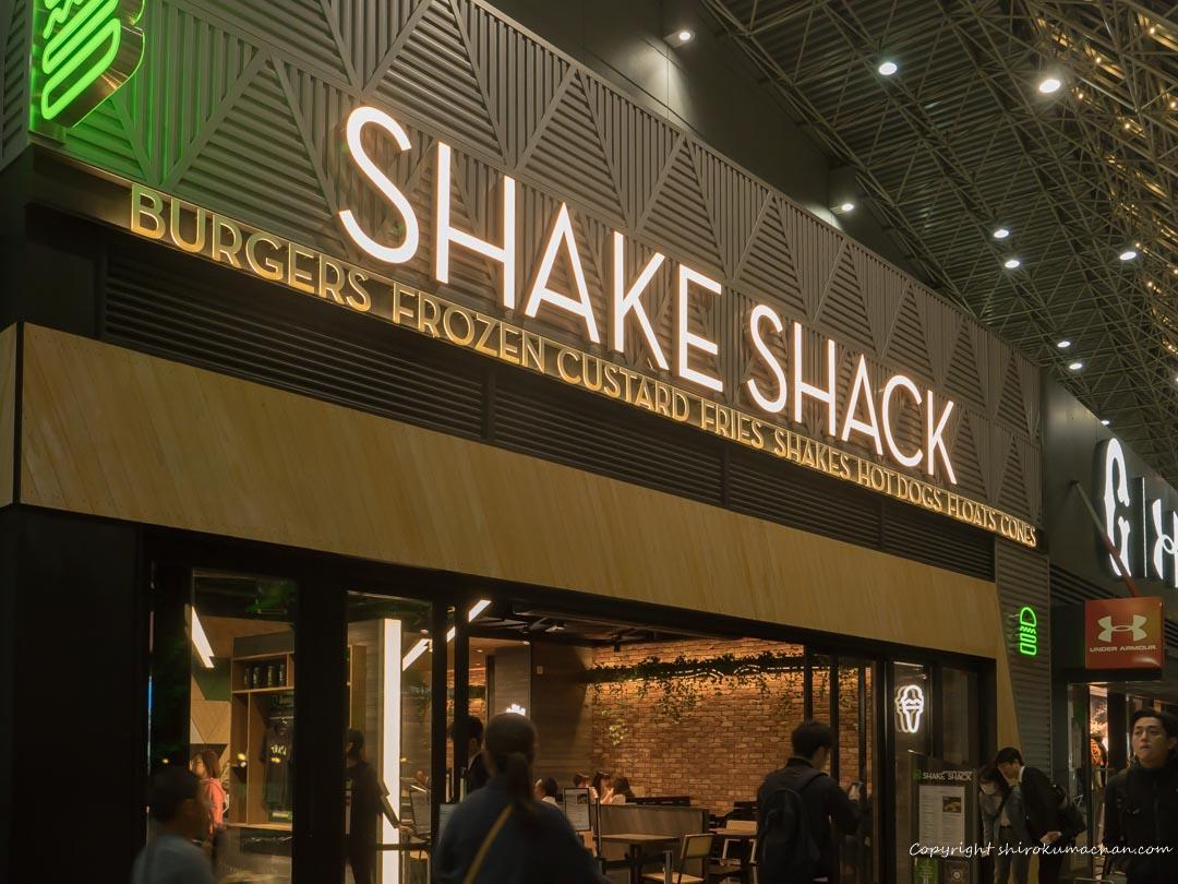 Tokyo Dome Mac and Shake Shack