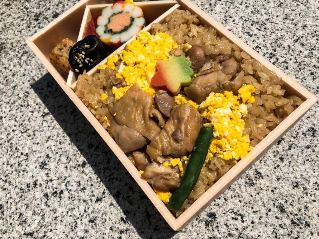 鶏めし弁当-花善