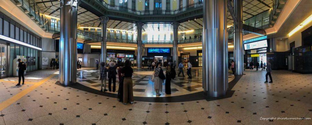 東京駅改札外待ち合わせ丸の内南口