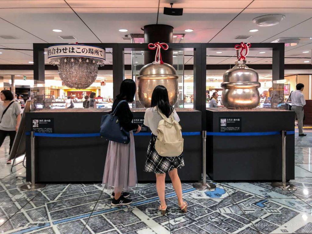 東京駅歴代銀の鈴