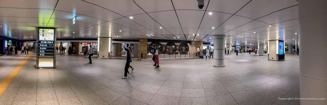 東京駅待ち合わせスポット動輪の広場