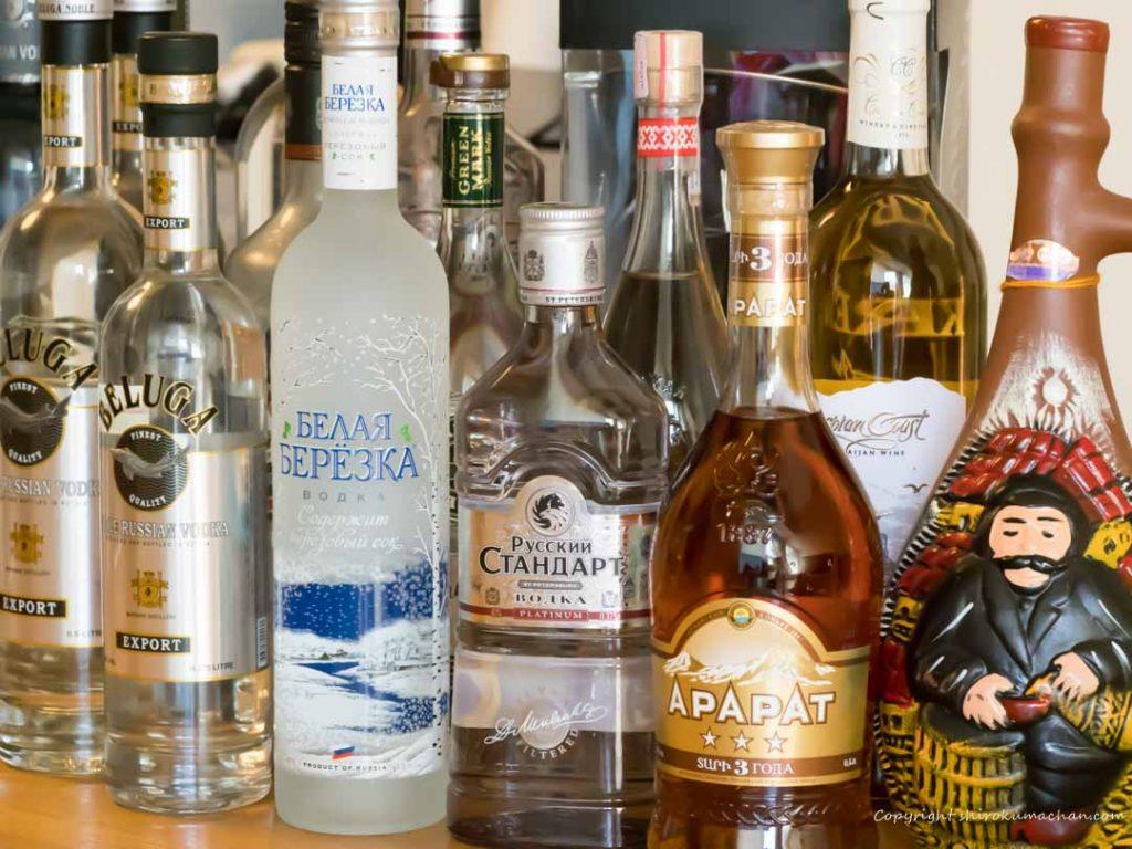 ロシア土産おすすめお酒