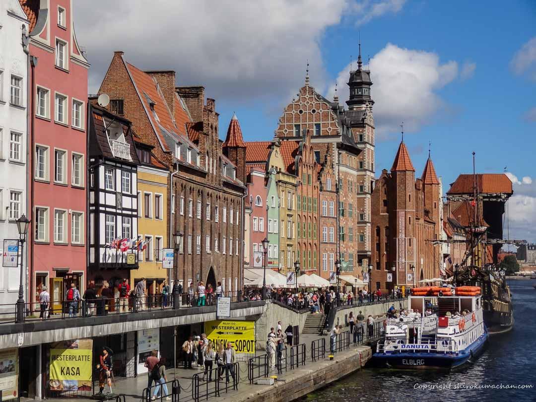 poland gdansk-運河