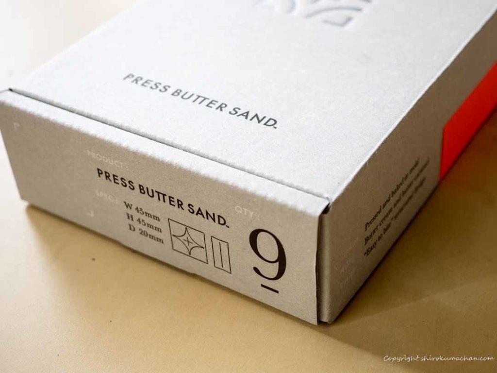 Press Butter Sandパッケージ